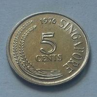 5 центов, Сингапур 1976 г.