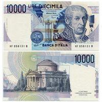 Италия. 10 000 лир (образца 1984 года, P112c, UNC)