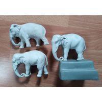 Чернильный прибор слоны