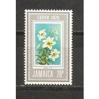 КГ Ямайка 1970 Цветы