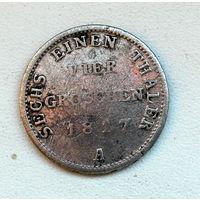 4 гроша 1817 А Пруссия