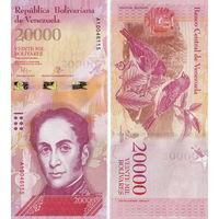 Венесуэла  20000 боливаров  UNC