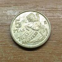 Испания 5 песет 1997