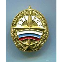 Миноброны России Турист Вооруженных Сил России 9 гр на заколке
