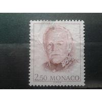 Монако 1991 князь Ренье 3  2,5фр