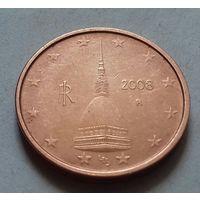 2 евроцента, Италия 2008 г.