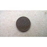 Польша 5 грошей, 1923