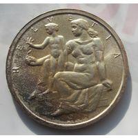 Швейцария, 5 франков, 1948, серебро