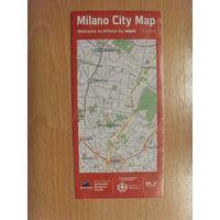 Карта (план) Милана