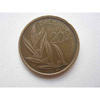 20 Франков 1980 (Бельгия)
