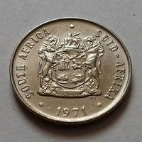 10 центов, ЮАР 1971 г.