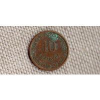 Сан-Томе и Принсипи 10 сентаво 1962/Xx