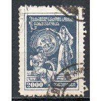 Стандартный выпуск ГССР 1922 год 1 марка