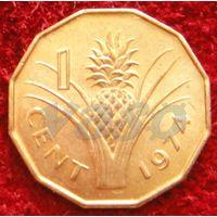 7417:  1 цент 1974 Свазиленд