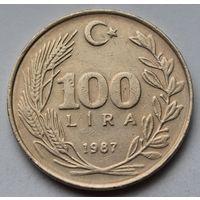 Турция 100 лир, 1987 г.