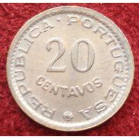 9074: 20 сентаво 1974 Мозамбик