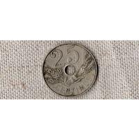 Испания 25 сантимов  1927 /(ОI)