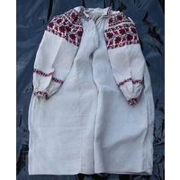 Сорочка домотканая льняная (рубашка, вышиванка), к. 1910-х гг.