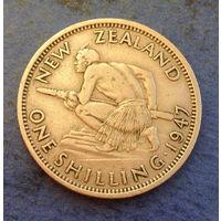 Новая Зеландия 1 шиллинг 1947