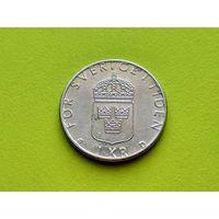 Швеция. 1 крона 1990.