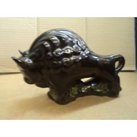 Зубр, керамика, 20*13 см.