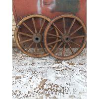 Два колеса с цельногнутым ободом-польские