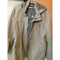 Куртка  коричневая новая, ветровка   52-54  р