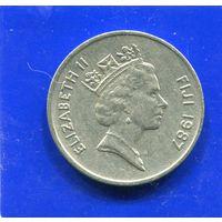 Фиджи 10 центов 1987