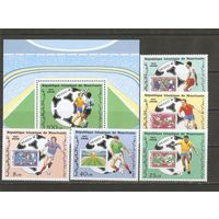 Мавритания 1986 Футбол