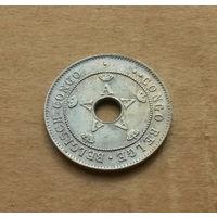 Бельгийское Конго, 10 сантимов 1921 г.