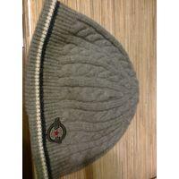 Зимняя шапка для мальчика на ОГ 54-56