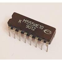 Микросхема КМ555ИЕ10 Аналог SN74LS161 Синхронный двоичный счетчик