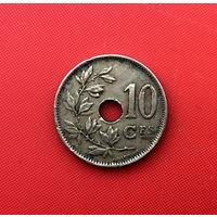 57-04 Бельгия, 10 сантимов 1929 г. (Французский тип)