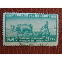 Уругвай 1949г. Фауна