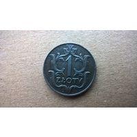 Польша 1 злотый, 1929г. (а-3)