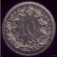 10 раппенов 1985 год Швейцария