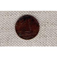 1 грош 1925 Австрия бронза
