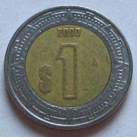 Мексика, 1 песо 2000 г