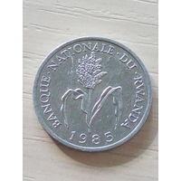 Руанда 1 франк 1985г.
