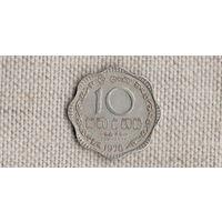 Шри Ланка Цейлон 10 центов 1978 //(GB)/