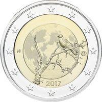 2 евро 2017 Финляндия Природа Финляндии UNC из ролла