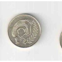1 цент 2004 года Кипра 35