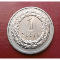 1 злотый 1991 Польша #10