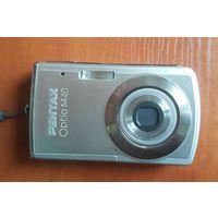 Цифровой фотоаппарат Pentax ОptioM40 (c новым аккумулятором 40В/42B)
