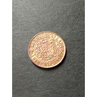 Индия Голландская 1/2 цента 1945