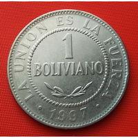25-24 Боливия, 1 боливиано 1997 г.
