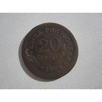 20 Центавос 1924 (Португалия)