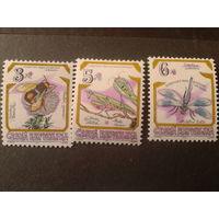 Чехия 1995 насекомые