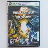 Mortal Kombat vs. DC Universe. X-BOX 360. Игра для прошитого xbox