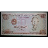 Вьетнам 200 Донг 1988 UNC ТР 0002142